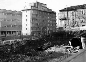 Le demolizioni dei primi anni '70
