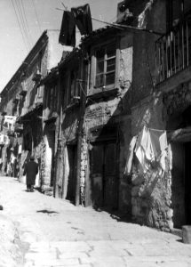 L'area di rione Addone, fine anni '60