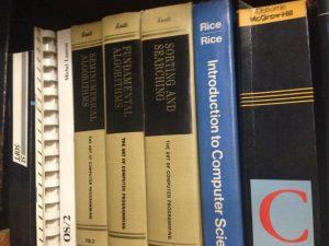 La mia copia della 'bibbia' di Don Knuth